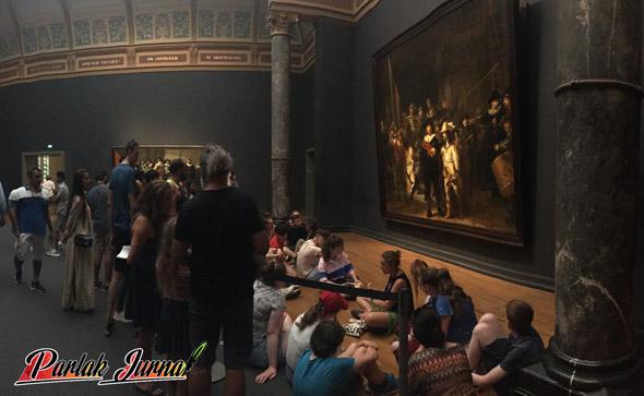 müzede eğitim