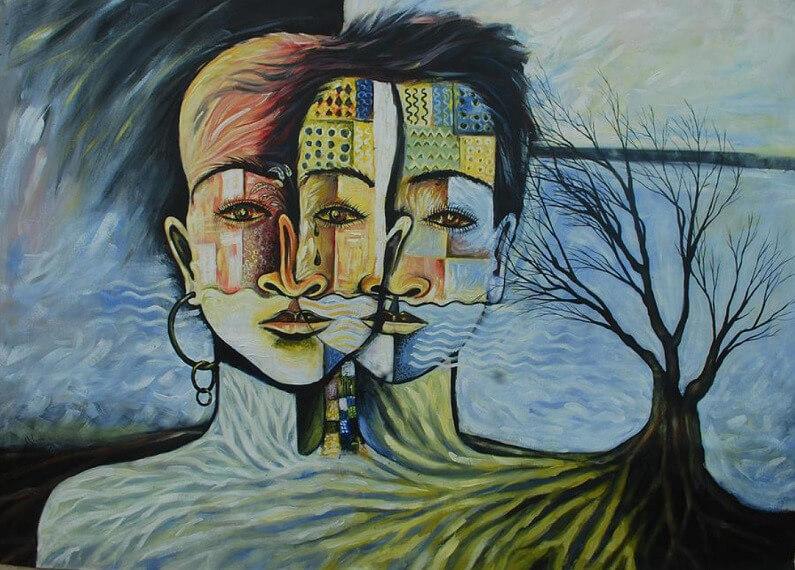 fıtrat çift insan yüzü