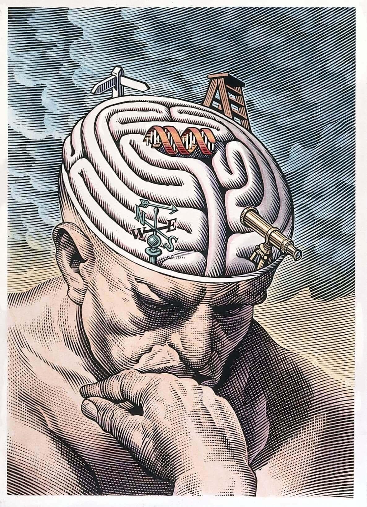 beyin göçü düşünen adam