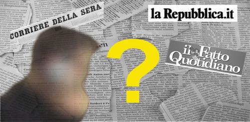 #fateilnome Giornali, pubblicate il nome del lobbista misterioso!
