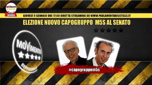 #CapogruppoM5S, ballottaggio Romani/Santangelo – il video integrale