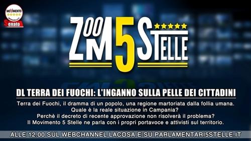 #Zoom5stelle – Dl Terra dei Fuochi: il grande inganno | Live streaming ore 12.15
