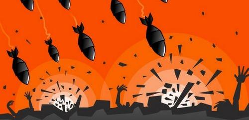 No alla guerra, no alle bombe
