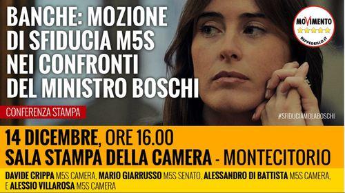 #SfiduciamoLaBoschi, diretta streaming