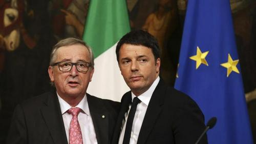 Ue, da Juncker nuovo schiaffo a Italia