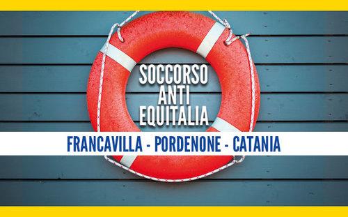 SOS Anti Equitalia: il M5S apre altri tre punti a Pordenone, Francavilla e Catania