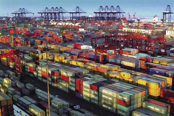 Industria marítima Puerto de Tianjin