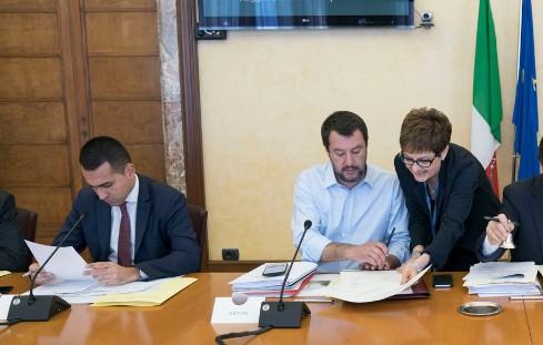 DI MAIO E SALVINI, E' SCONTRO APERTO NEL GOVERNO - PARLAMENTONEWS