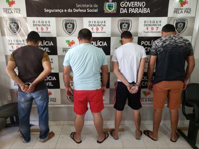Operação 'Conceição' prende cinco e apreende armas e munições em cidades do Cariri