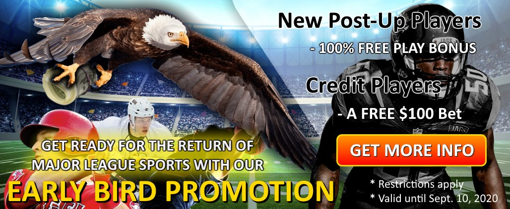 2020 Early Bird Promotion