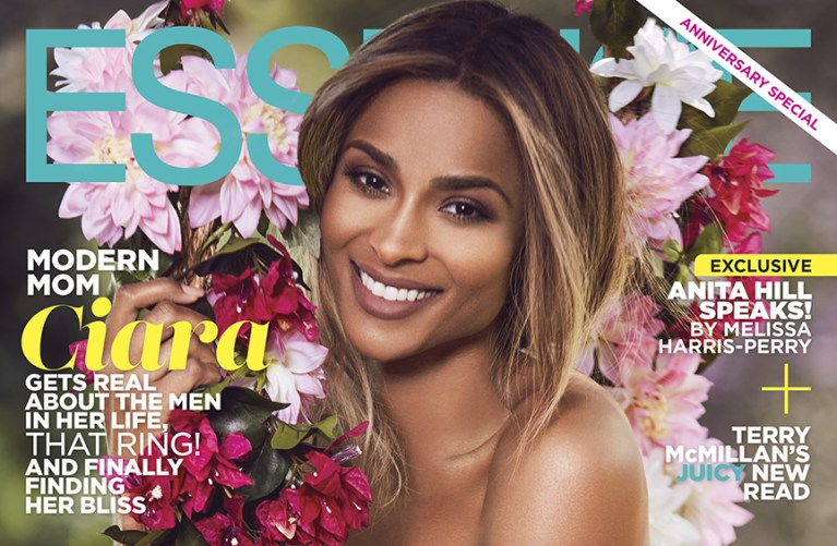 Ciara Poses For A Beautiful Essence Magazine May Cover