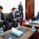 رئيس مجلس النواب مع السفير الصيني