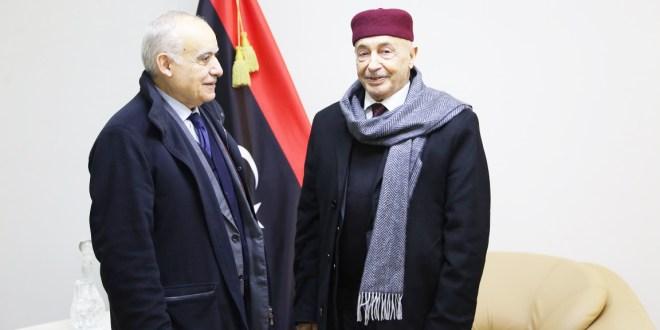 فخامة رئيس مجلس النواب يلتقي المبعوث الأممي لدى ليبيا