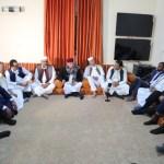 لقاء الرئيس عمداء بلديات وشباب الجنوب ونشطاء من المنطقة الغربية2