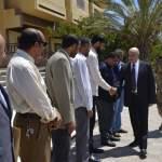 رئيس مجلس النواب يزور جامعة عمر المختار بمدينة القبة