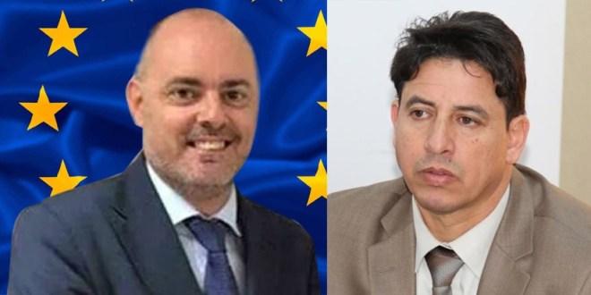 لجنة الخارجية تتلقى رسالة من بعثة الاتحاد الأوروبي لدى ليبيا