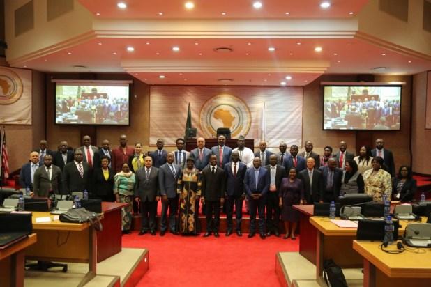 رئيس الديوان في اجتماع الأمانة العامة للبرلمان الافريقي جوه