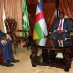 رئيس مجلس النواب ورئيس الديوان ورئيس افريقيا الوسطى