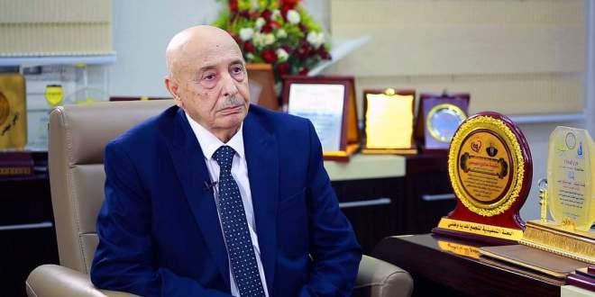 فخامة رئيس مجلس النواب نرحب بأي مساعي دولية بما يحقق إرادة الليبيين وإخراج المليشيات المسلحة من العاصمة