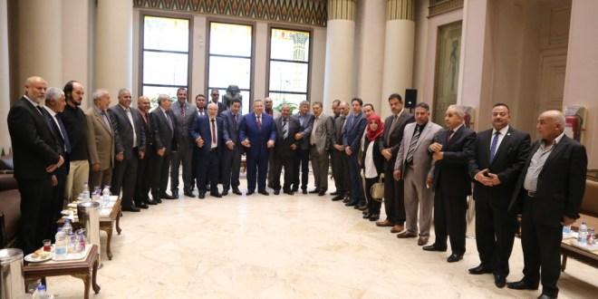 أعضاء مجلس النواب يزورون مجلس النواب المصري ويبحثون عدد من القضايا المشتركة