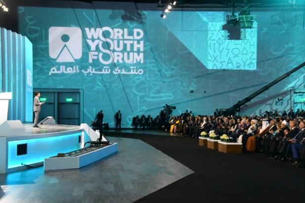 رئيس مجلس النواب في منتدى شباب العالم