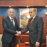 رئيس مجلس النواب يلتقي نظيره اليوناني