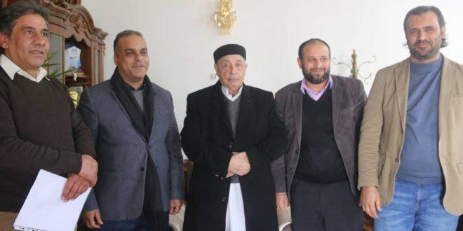 فخامة رئيس مجلس النواب يلتقي رئيس الهيئة العامة للإسكان والمرافق بالحكومة الليبية