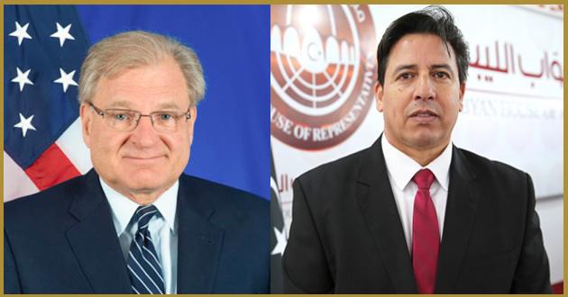 رئيس لجنة الخارجية يتباحث هاتفياً مع سفير الولايات المتحدة الأمريكية