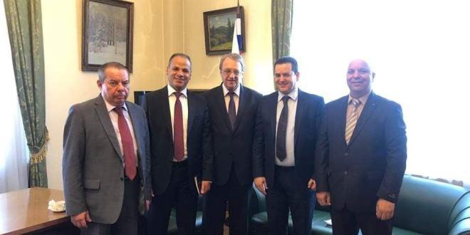 """معالي النائب الثاني : الجمهورية الروسية أكدت دعمها لـ""""إعلان القاهرة"""" لحل الأزمة الليبية"""