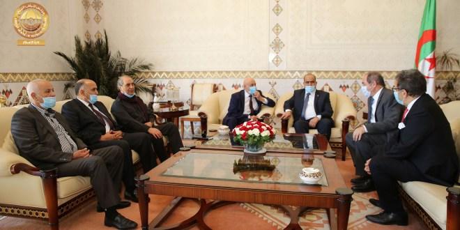 فخامة رئيس مجلس النواب يقوم بزيارة رسمية للشقيقة الجزائر