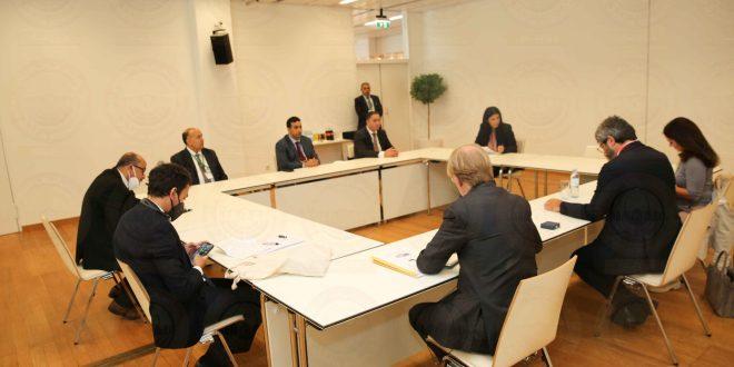 النائب الأول يلتقي رئيس البرلمان الإيطالي على هامش أعمال المؤتمر العالمي الخامس لرؤساء البرلمانات