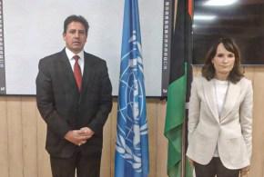 رئيس لجنة الشؤون الخارجية يلتقي منسق الشؤون الإنسانية ببعثة الأمم المتحدة