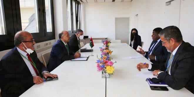 رئيس ديوان مجلس النواب يلتقي الأمين العام للاتحاد البرلماني الدولي