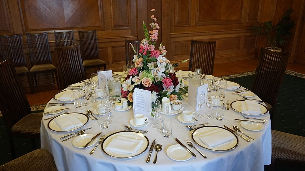 Table in the Private Dining Room