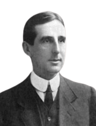 Picture of the architect Arnold Thornely who designed Parliament Buildings in Belfast, Northern Ireland.