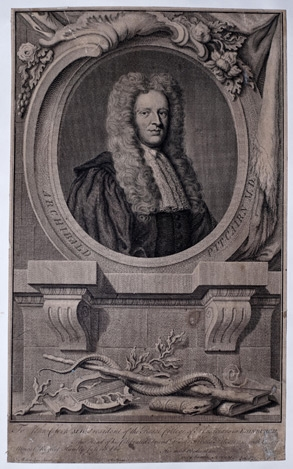 Archibald Pitcairne engraving by Strange