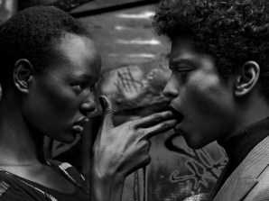 Ajak-Deng-and-Bruno-Mars-by-Hunter-and-Gatti-for-Flaunt-Magazine-4