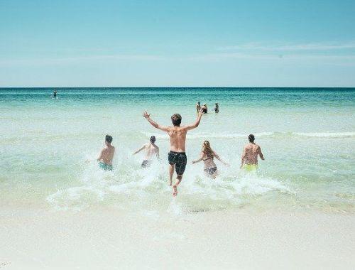 drague en vacances
