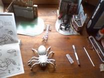giant spiderbuilding