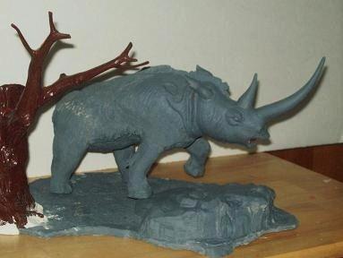 aurora woolly rhino - 7 mike knight