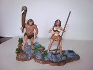 neanderthal man & woman - mike k