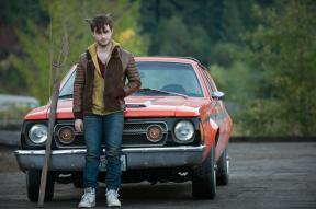 he drives a Gremlin, lol!