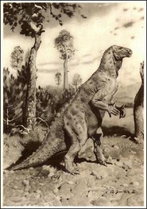 burian - iguanodon