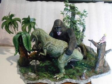 Kong vs Tyrannosaurus 3