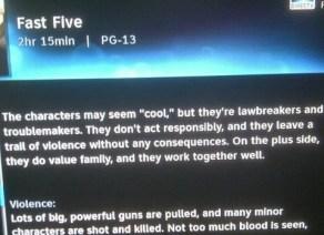 movie summary - fast five