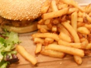 Le fameux burger de la Penderie