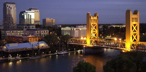 Sacramento Bridge and Downtown-575x285