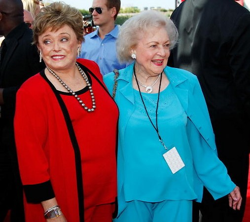 Golden Girl Rue McClanahan and betty white