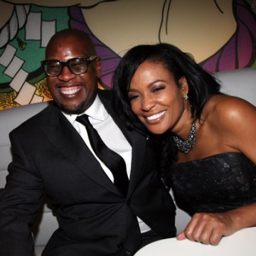 Andre Harrell and Beverly Bond attend the Black Girls Rock! 2011 after party