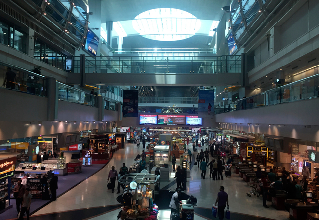 The retail hub of the Dubai airport. Luxury lovers...get ready!